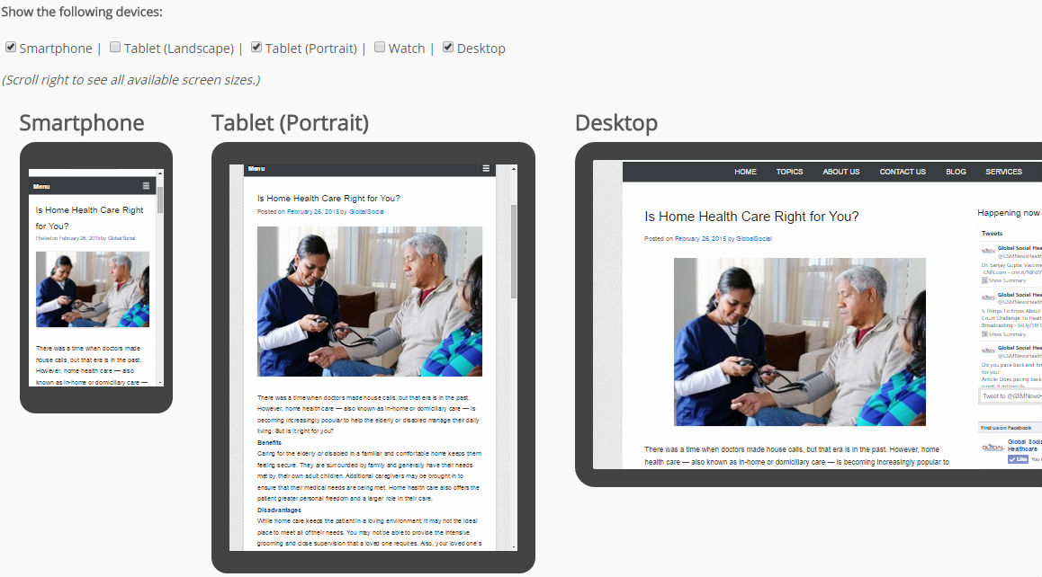 A Free Tool for Publishers: Preview Pages on Different Screen Sizes