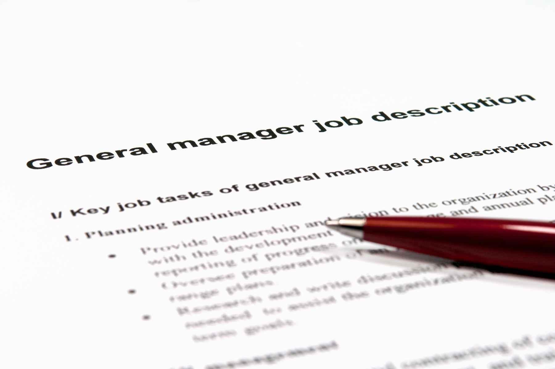 Writing an Effective Job Description